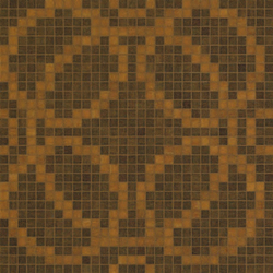 Circles Brown mosaic | Mosaïques verre | Bisazza