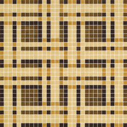 Gate Brown mosaic | Mosaïques verre | Bisazza