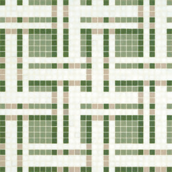 Gate Green mosaic | Glass mosaics | Bisazza