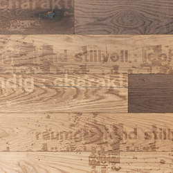 Carving Grunge I brushed | white oil | Planchas de madera | mafi