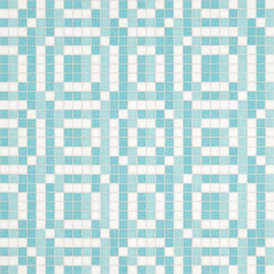 Stamps Blue mosaic | Glass mosaics | Bisazza