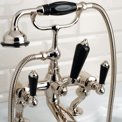 Black Dandy Bath and Shower mixer | Bath taps | Devon&Devon