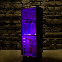 bordbar LED purple | Teewagen / Barwagen | bordbar