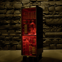 bordbar LED red | Tea-trolleys / Bar-trolleys | bordbar