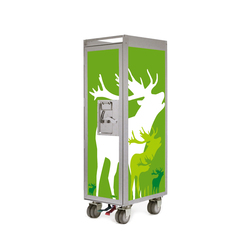 bordbar silver edition deer | Chariots / Tables de service | bordbar