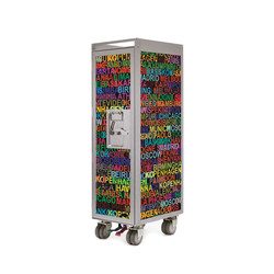 bordbar silver edition metropolitan | Service Trolleys / Tische | bordbar