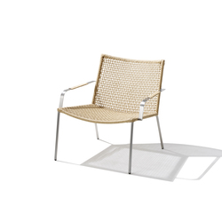 Straw Lounge Chair | Poltrone | Cane-line