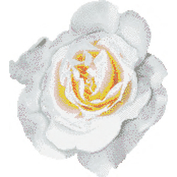 Rosa Bianca mosaic | Glass mosaics | Bisazza
