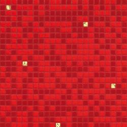 Opus Romano | Fuoco Oro Giallo | Mosaicos cuadrados | Bisazza