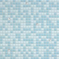 Opus Romano | Azzurra Oro Bianco | Mosaici quadrati | Bisazza