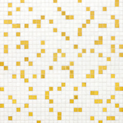 Prince White mosaic | Mosaïques verre | Bisazza