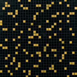 Prince Black mosaic | Glass mosaics | Bisazza