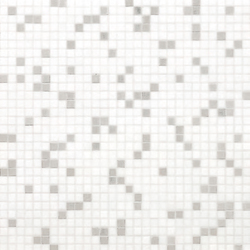 Princess White mosaic | Glass mosaics | Bisazza