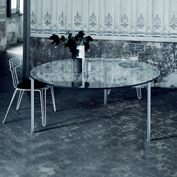 Steel | Dining tables | Glas Italia