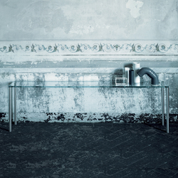 Steel | Tables consoles | Glas Italia