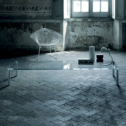 Steel | Lounge tables | Glas Italia