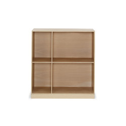 Mogens Koch deep bookcase | Shelves | Carl Hansen & Søn