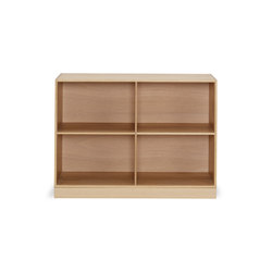 Mogens Koch 2/3 bookcase | Shelves | Carl Hansen & Søn