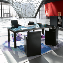 Abaco Table I Desk | Tables de restaurant | Enrico Pellizzoni