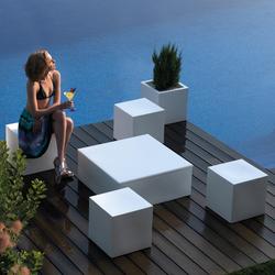 Quadrat | Garden stools | Vondom
