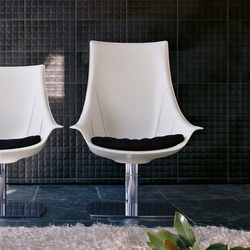 Lullaby Armchair high back | Sillones lounge | Enrico Pellizzoni