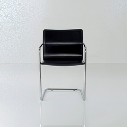 Lybra Chair | Visitors chairs / Side chairs | Enrico Pellizzoni