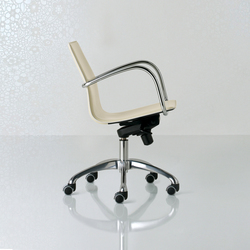 Micad Swivel chair low back | Sillas de oficina | Enrico Pellizzoni