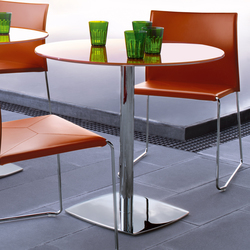 Valeo Bar table | Cafeteria tables | Enrico Pellizzoni