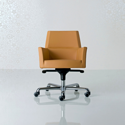 Web Swivel armchair | Management chairs | Enrico Pellizzoni