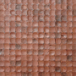 Cocomosaic tiles brown bliss 02-24 | Mosaici in noce di cocco | Cocomosaic