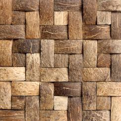 Cocomosaic coco husk | Mosaicos de coco | Cocomosaic