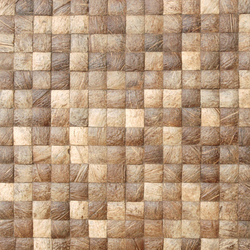 Cocomosaic tiles natural grain 04-47 | Mosaicos de coco | Cocomosaic