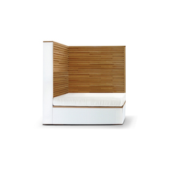 Cubic Sofa left | Gartensessel | Deesawat