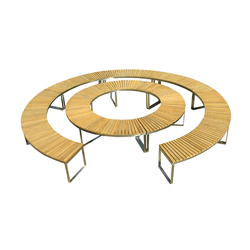 Boston Curve | Bancs de jardin | Deesawat