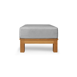 Frankfurt Single ottoman | Gartenhocker | Deesawat