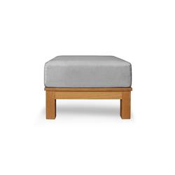 Frankfurt Single ottoman | Garden stools | Deesawat