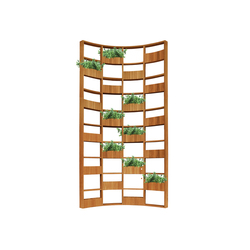 Green Wall curve | Room dividers | Deesawat