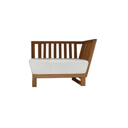 Noon Daybed right | Sillones de jardín | Deesawat