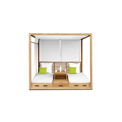 Summer Cabana Bed | Seating islands | Deesawat