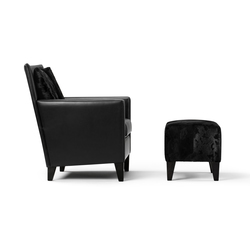 Mosa Armchair & Hocker | Armchairs | Bench