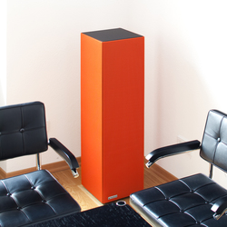 Sound Butler tbox TP30 orange | Sound absorbing freestanding systems | Phoneon