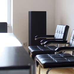 Sound Butler tbox TP30 black   Sound absorbing freestanding systems   Phoneon