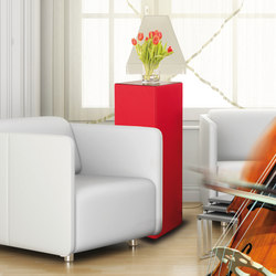 Sound Butler tbox TP35 red | Sound absorbing freestanding systems | Phoneon