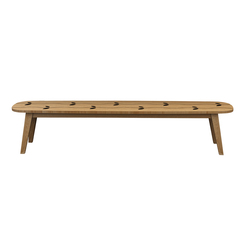 Wave Bench | Bancs de jardin | Deesawat