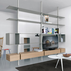 System SY02 | Office shelving systems | Extendo