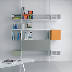 System SY04 | Office shelving systems | Extendo