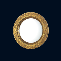 Couronne yellow gold | Mirrors | Bisazza