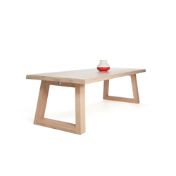 Slide Dining Table Naturel | Mesas para restaurantes | Odesi