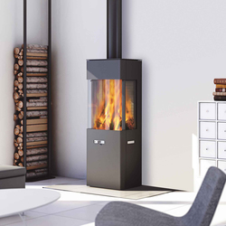 Q-20 | Wood burning stoves | Attika Feuer