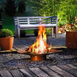 DeLIGHT 40 Gasschale | Fiaccole da giardino | Attika Feuer